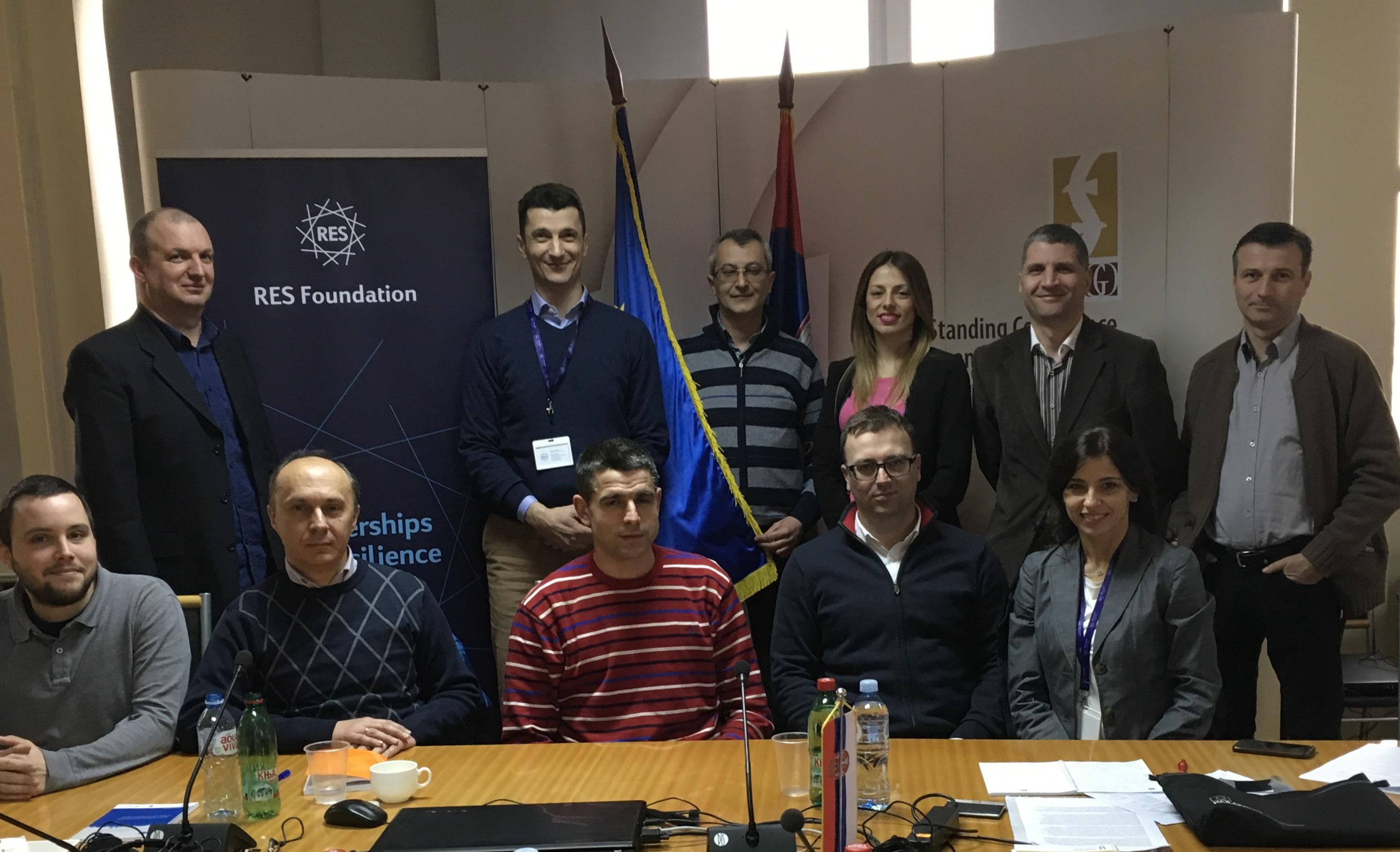 Predstavnici partnerskih opština RES fondacije i učesnici radionice